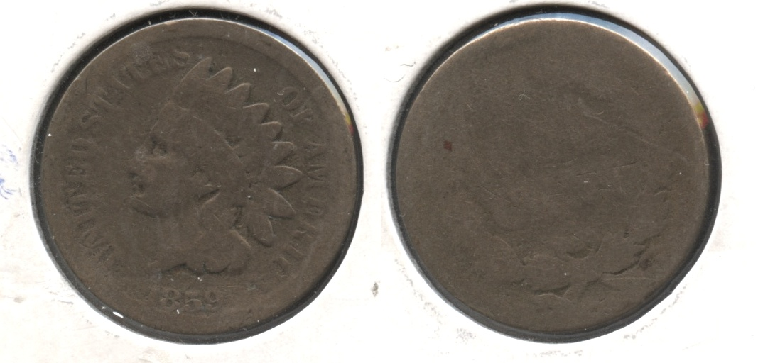 1859 Indian Head Cent AG-3 #at