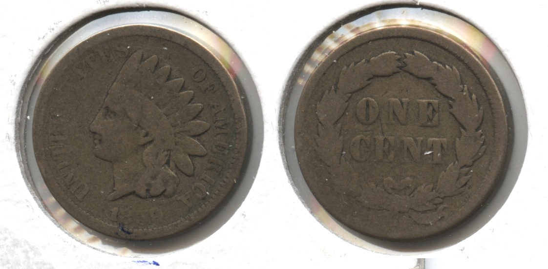 1859 Indian Head Cent Good-4 #cz