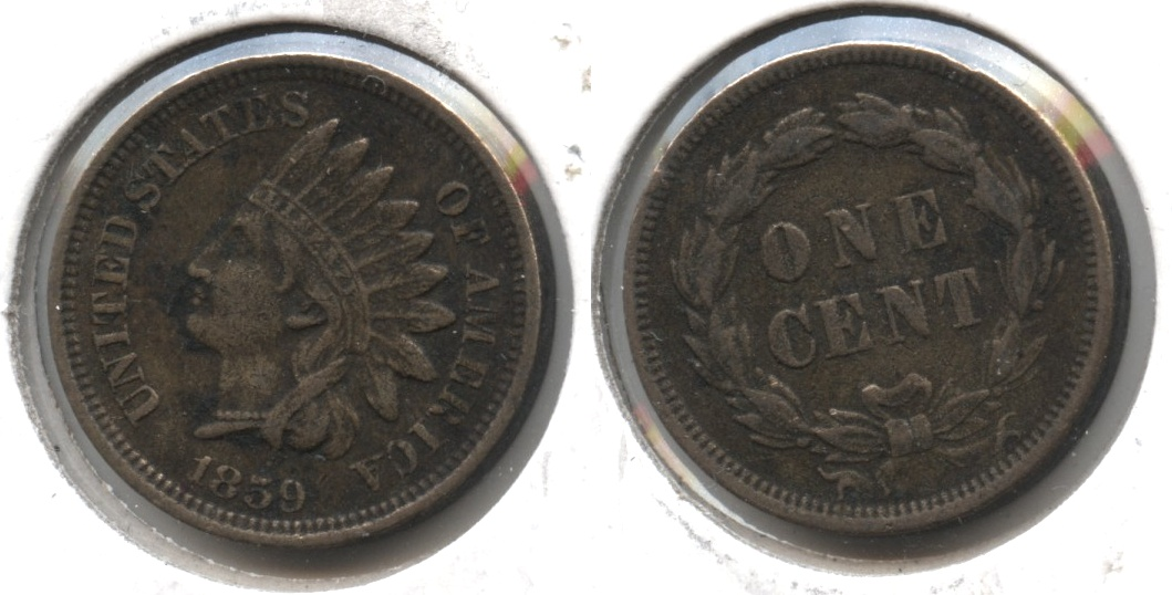 1859 Indian Head Cent VF-20 #h