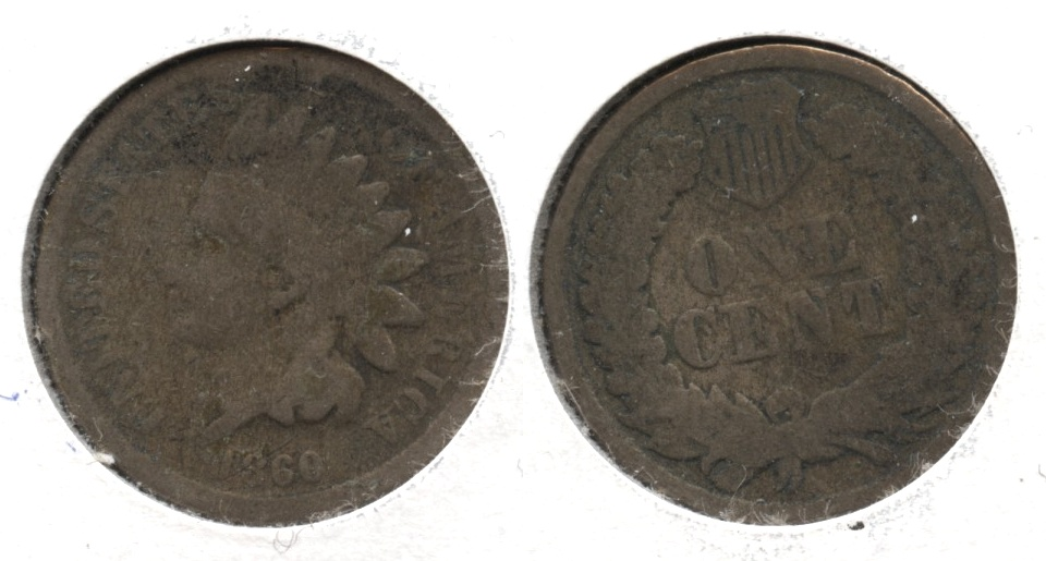 1860 Indian Head Cent Good-4 #ai