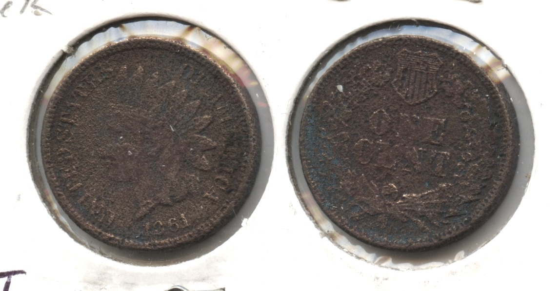 1861 Indian Head Cent Filler