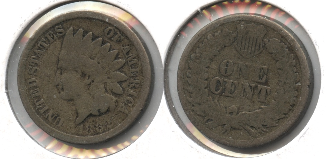 1862 Indian Head Cent G-4 #be