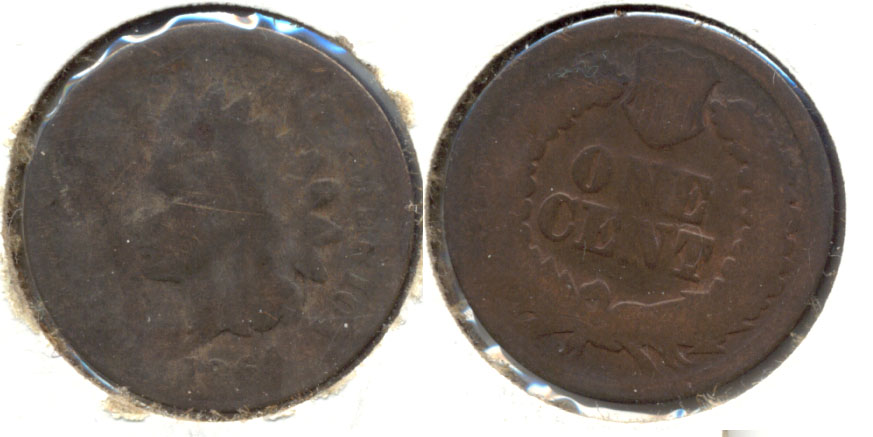 1864 Bronze Indian Head Cent Fair-2 b