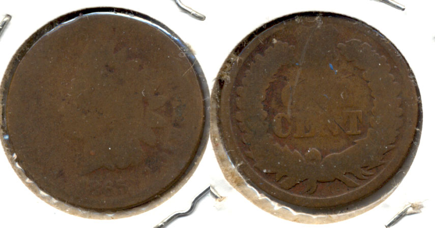 1865 Indian Head Cent AG-3 j
