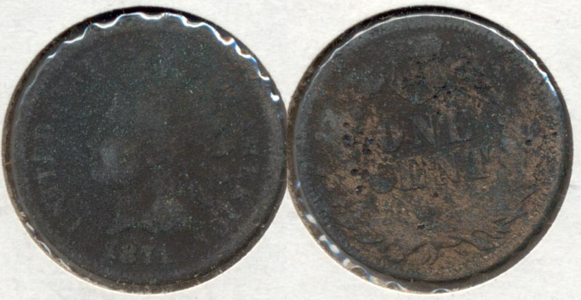 1871 Indian Head Cent Fair-2