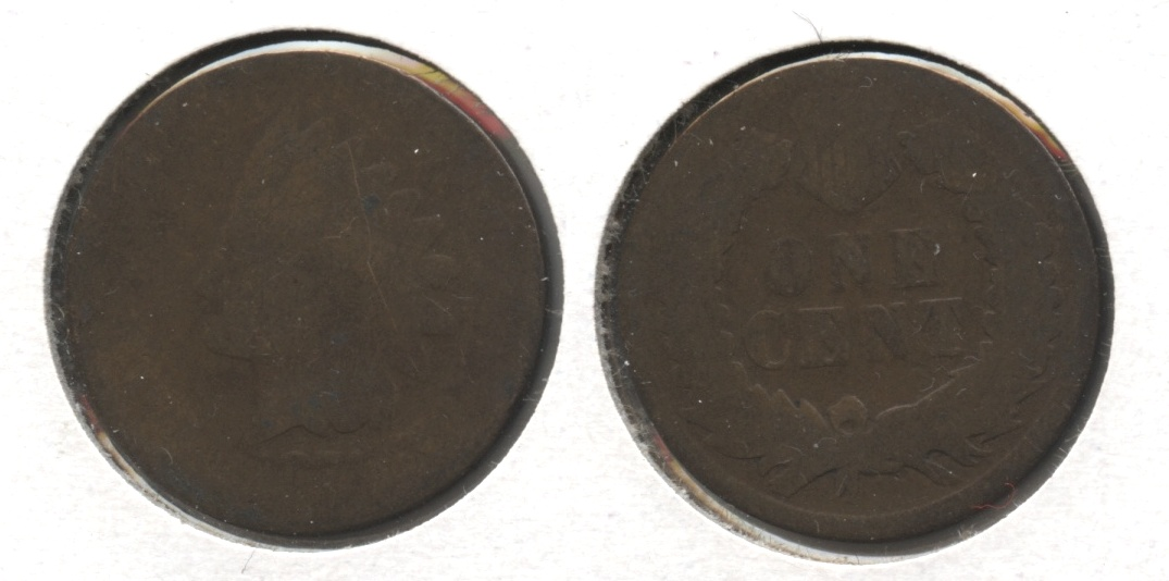1874 Indian Head Cent Fair-2 #p