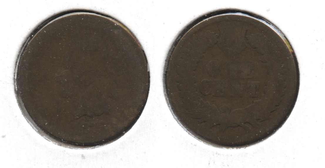 1875 Indian Head Cent Fair-2 #aj