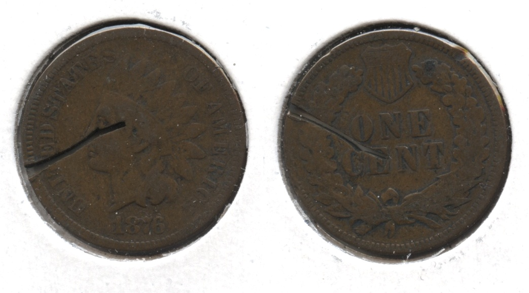 1876 Indian Head Cent Filler #q