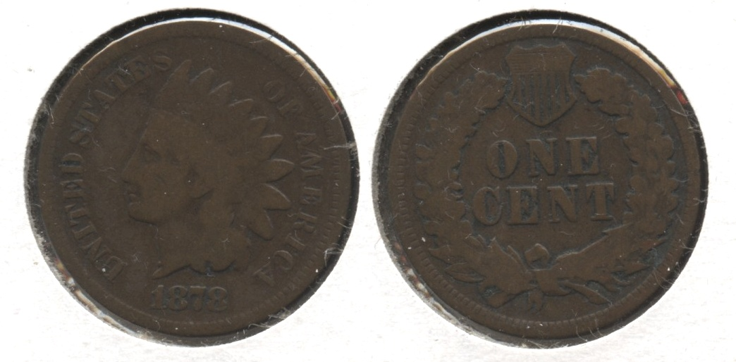 1878 Indian Head Cent Good-4 #h