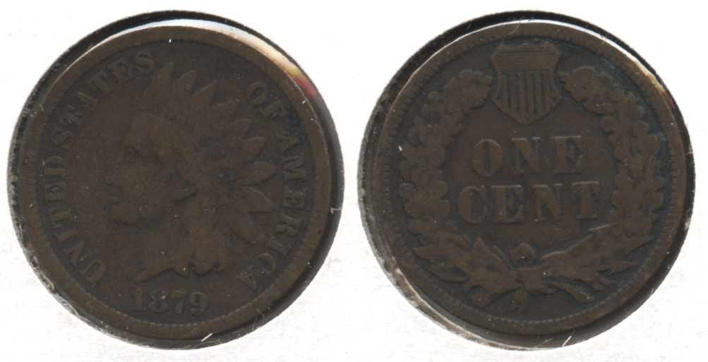 1879 Indian Head Cent Good-4 #z