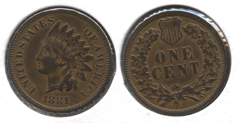 1881 Indian Head Cent VF-20 #a