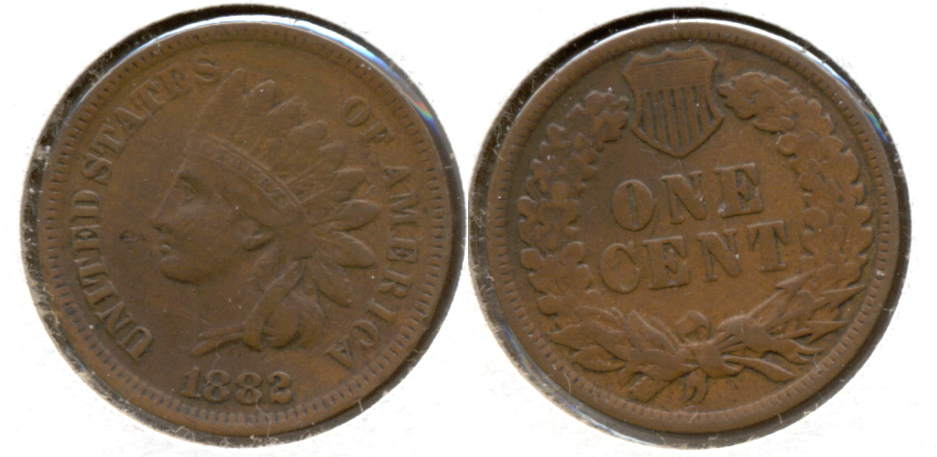 1882 Indian Head Cent EF-40 a