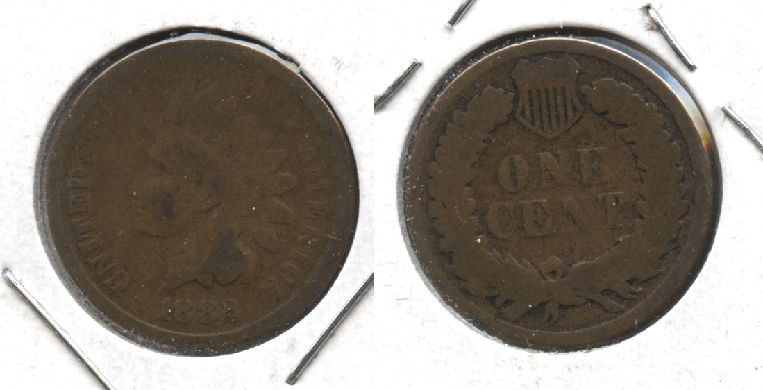 1882 Indian Head Cent Good-4 #al
