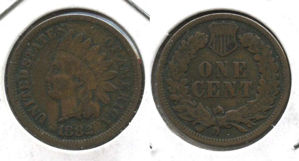 1882 Indian Head Cent VG-8 #f