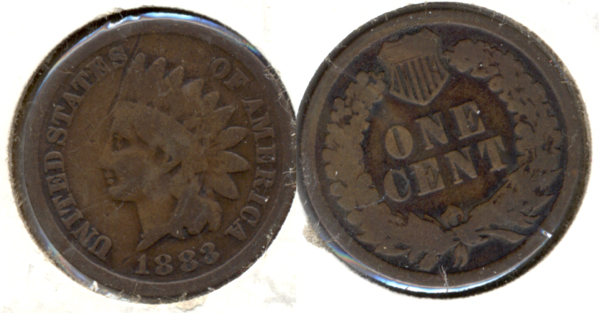 1883 Indian Head Cent Good-4 ah