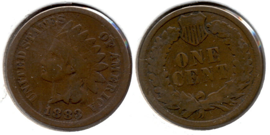 1883 Indian Head Cent Good-4 at