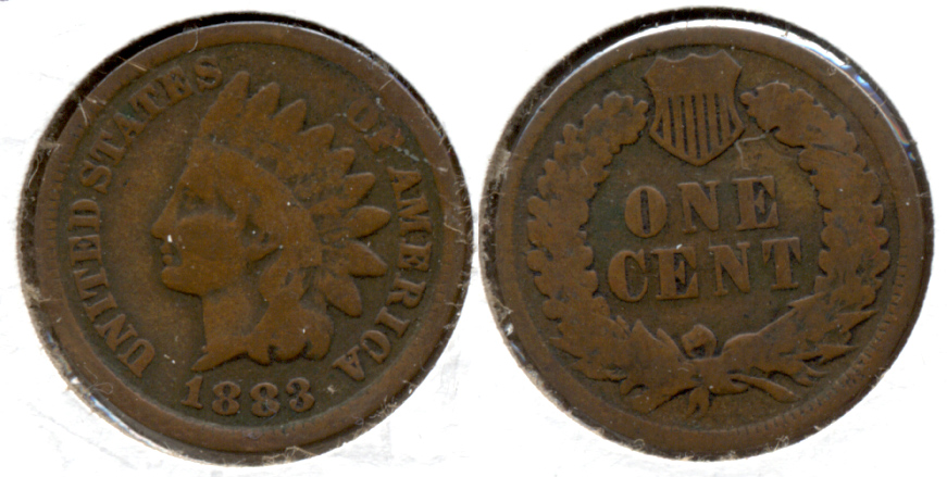 1883 Indian Head Cent Good-4 ay