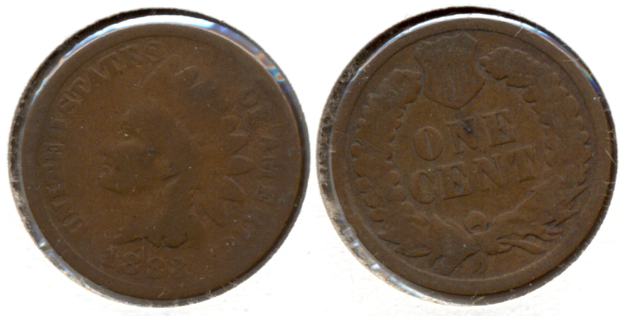 1883 Indian Head Cent Good-4 x