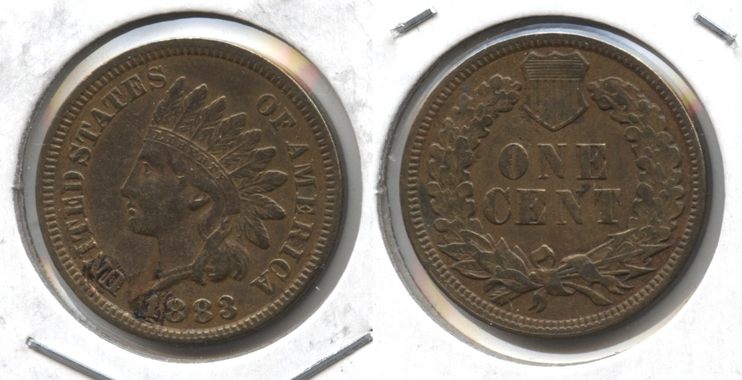 1883 Indian Head Cent VF-20 #d