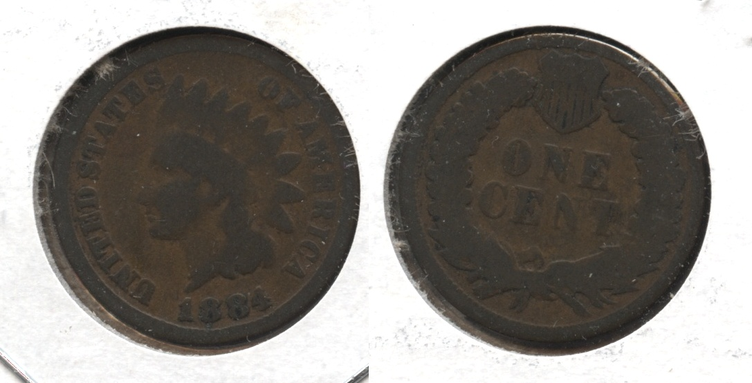 1884 Indian Head Cent Good-4 #t