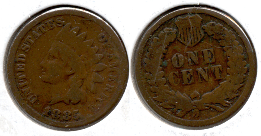 1885 Indian Head Cent G-4 i
