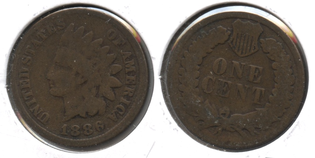 1886 Type 1 Indian Head Cent G-4 #d