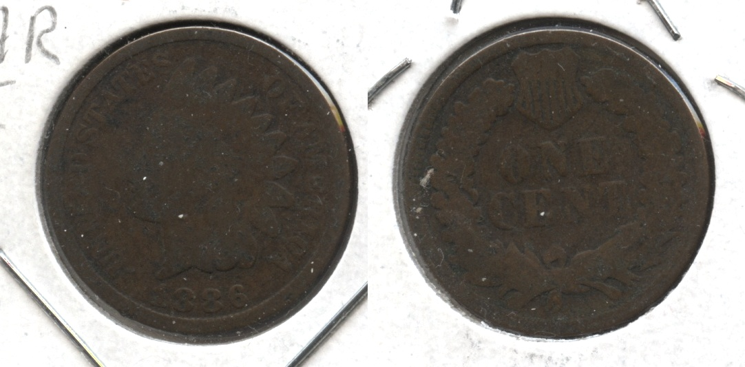 1886 Type 2 Indian Head Cent G-4 #h