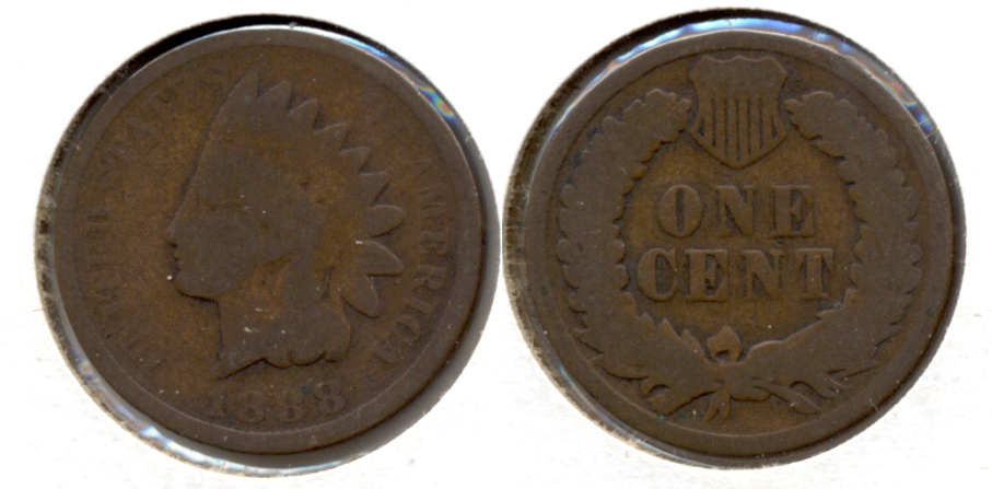 1888 Indian Head Cent Good-4 f