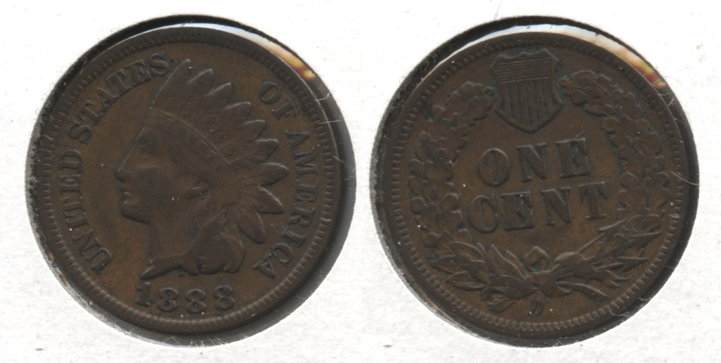 1888 Indian Head Cent VF-20 #b