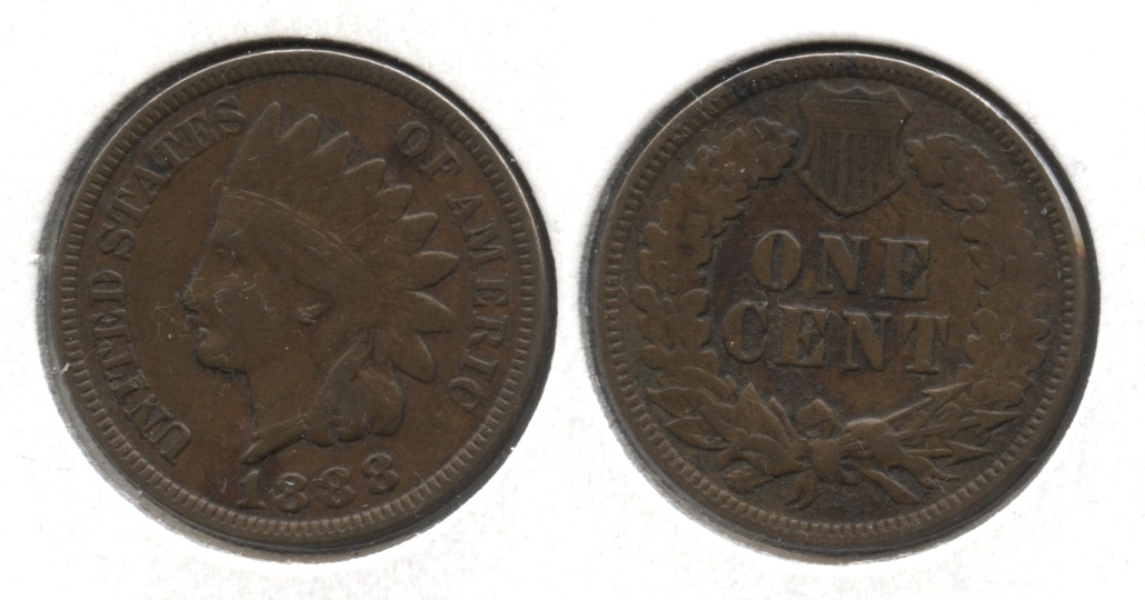 1888 Indian Head Cent VF-20 #d