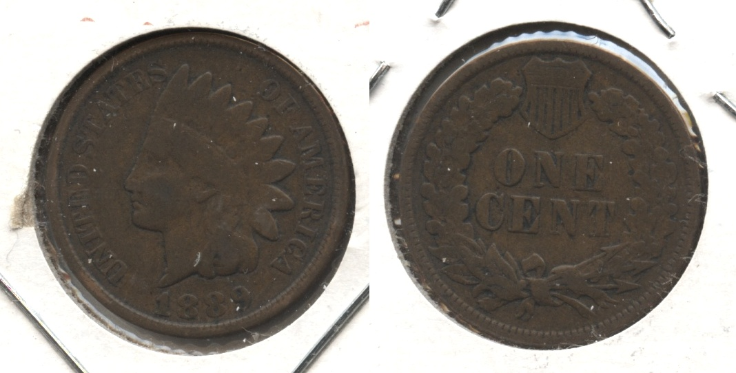 1889 Indian Head Cent VG-8