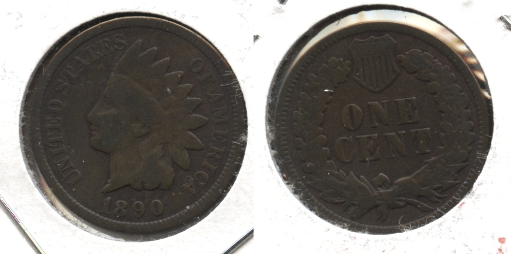 1890 Indian Head Cent Good-4 #x