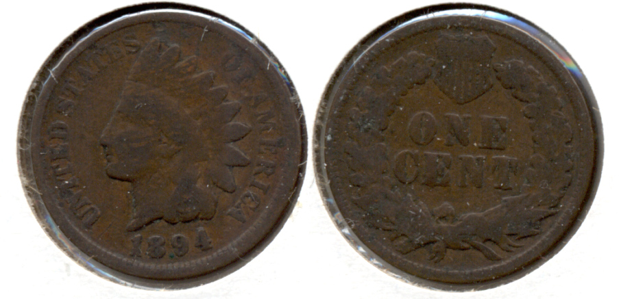 1894 Indian Head Cent Good-4 ai