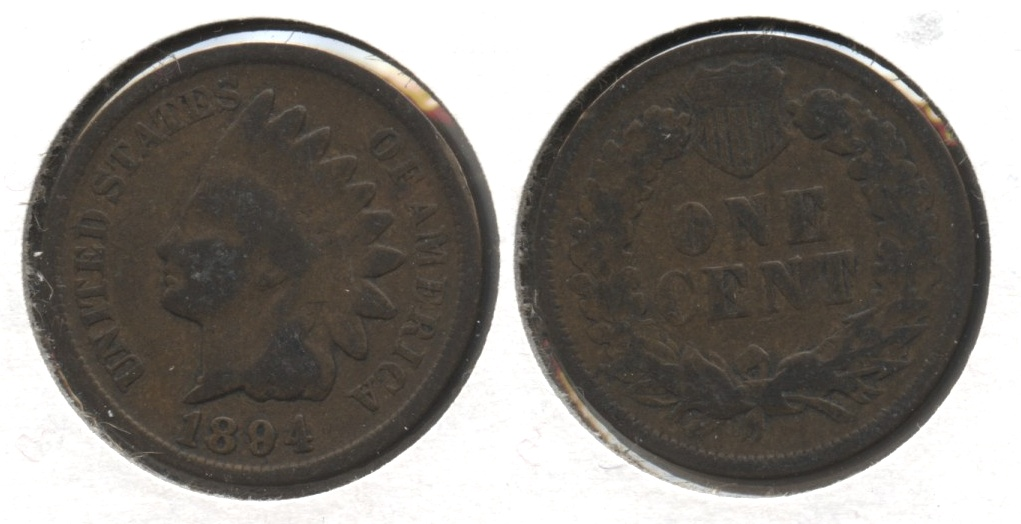 1894 Indian Head Cent Good-4 #av