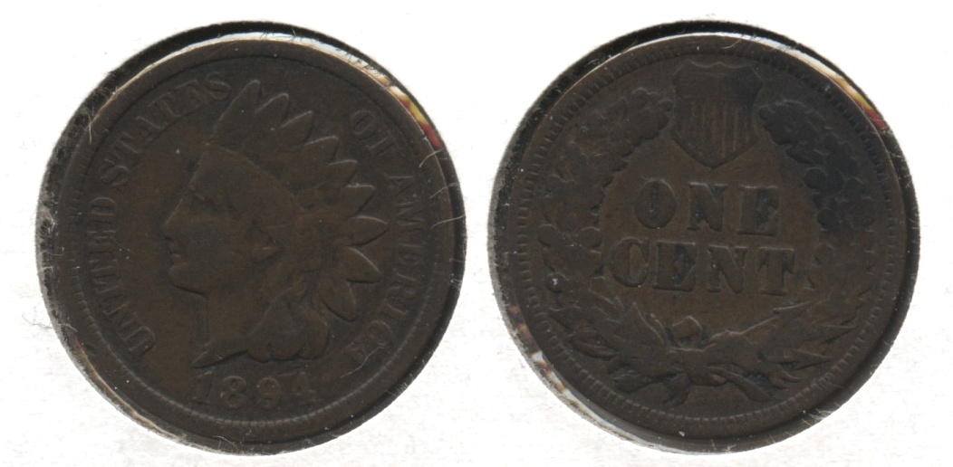 1894 Indian Head Cent Good-4 #ba