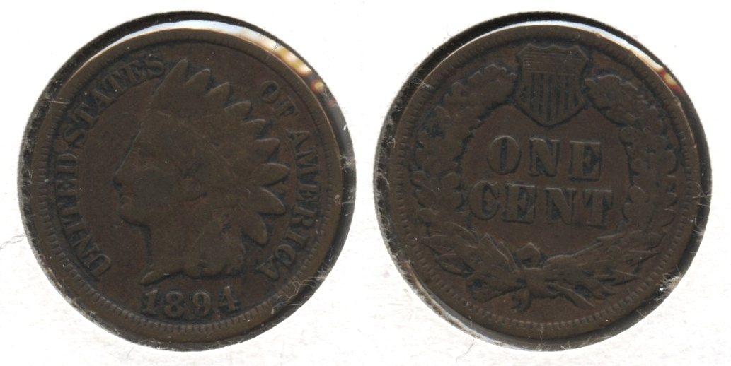 1894 Indian Head Cent Good-4 #bd
