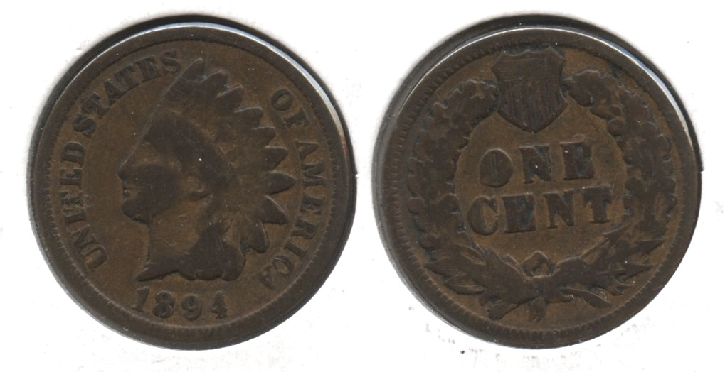 1894 Indian Head Cent Good-4 #br