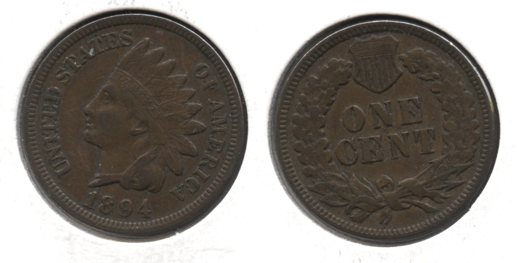 1894 Indian Head Cent VF-20 #c