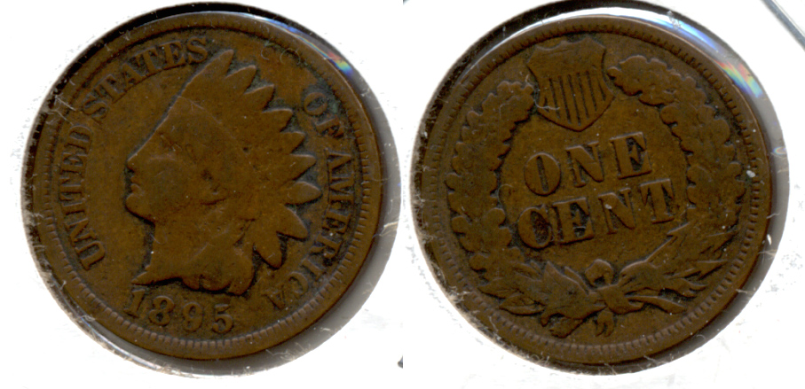 1895 Indian Head Cent Good-4