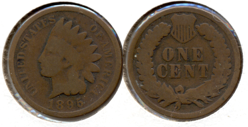 1895 Indian Head Cent Good-4 k