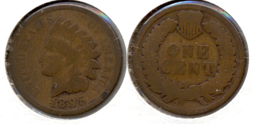 1895 Indian Head Cent Good-4 p
