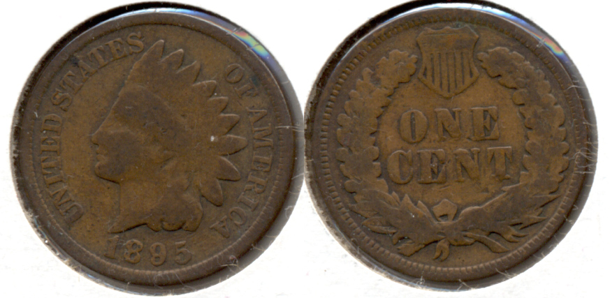 1895 Indian Head Cent Good-4 s