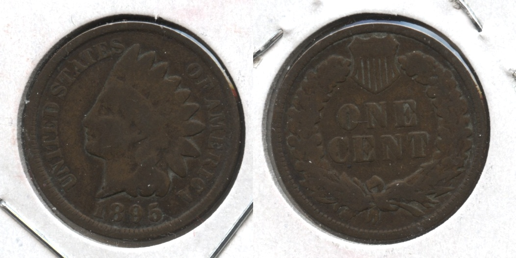 1895 Indian Head Cent Good-4 #w