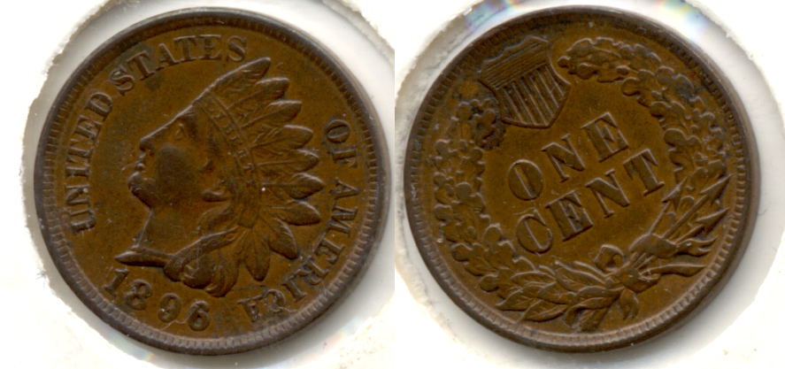 1896 Indian Head Cent EF-40