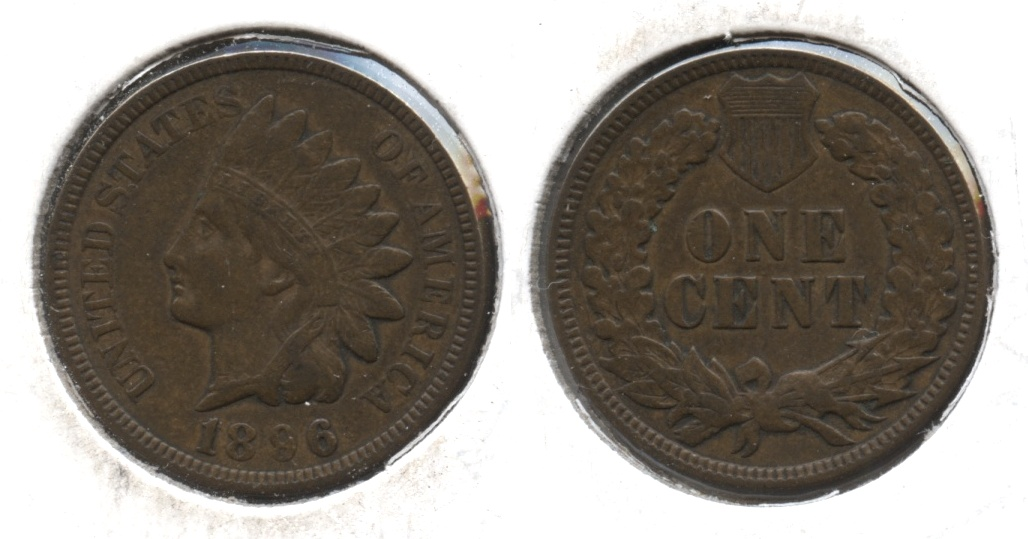 1896 Indian Head Cent EF-40 #b