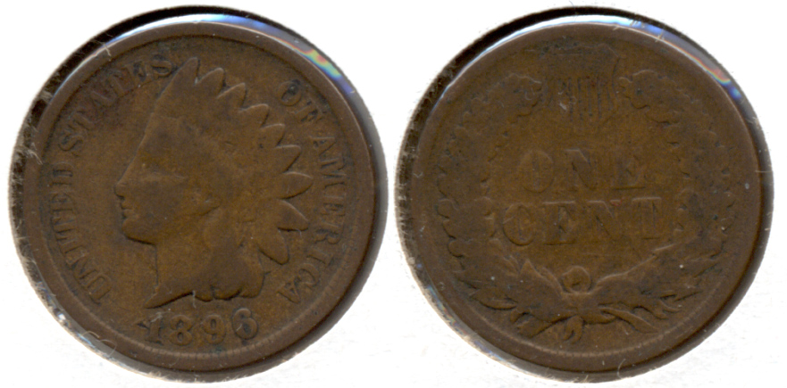 1896 Indian Head Cent Good-4 c