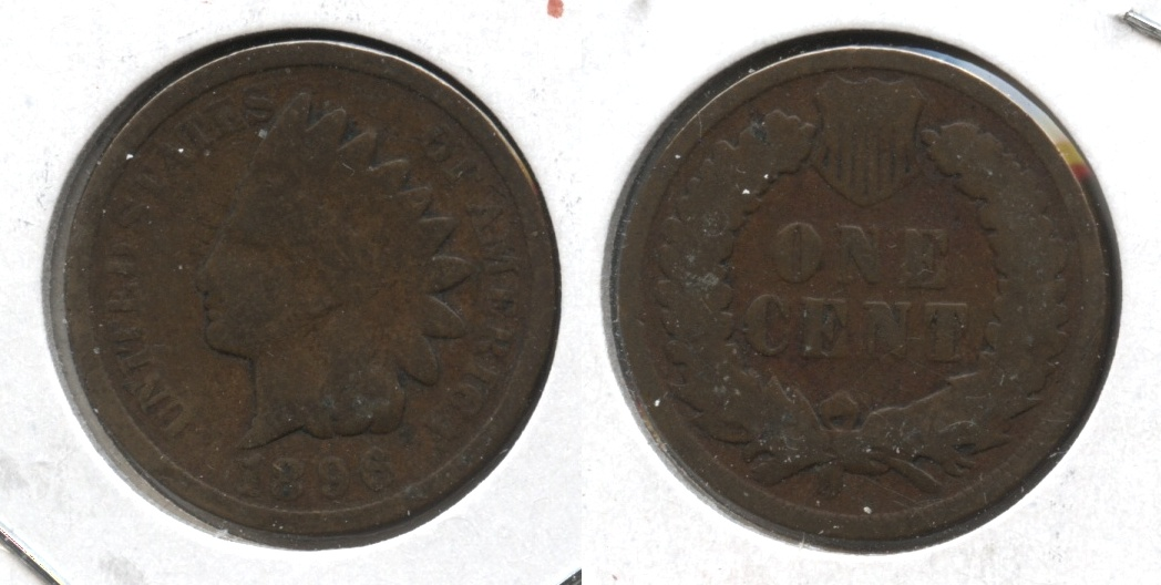 1896 Indian Head Cent Good-4 #i