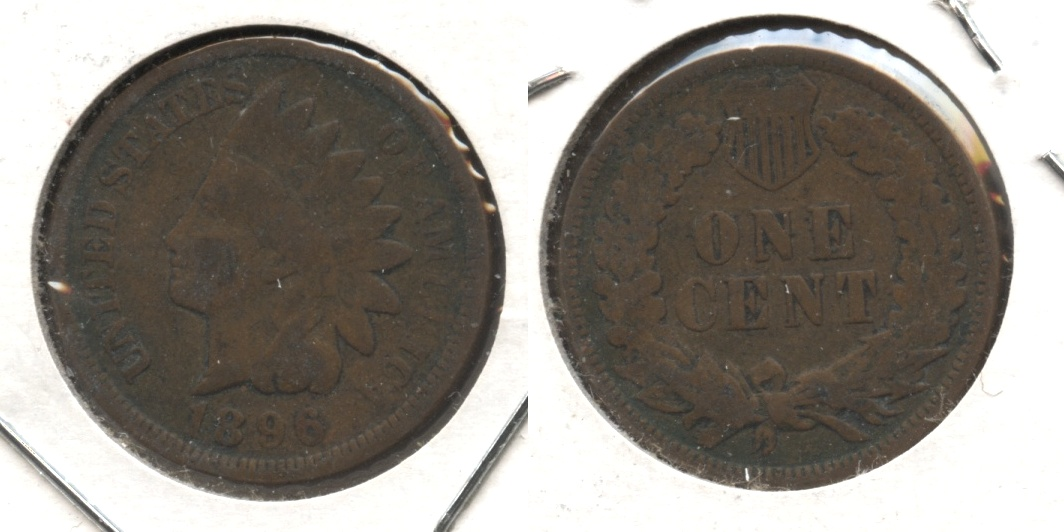 1896 Indian Head Cent Good-4 #n