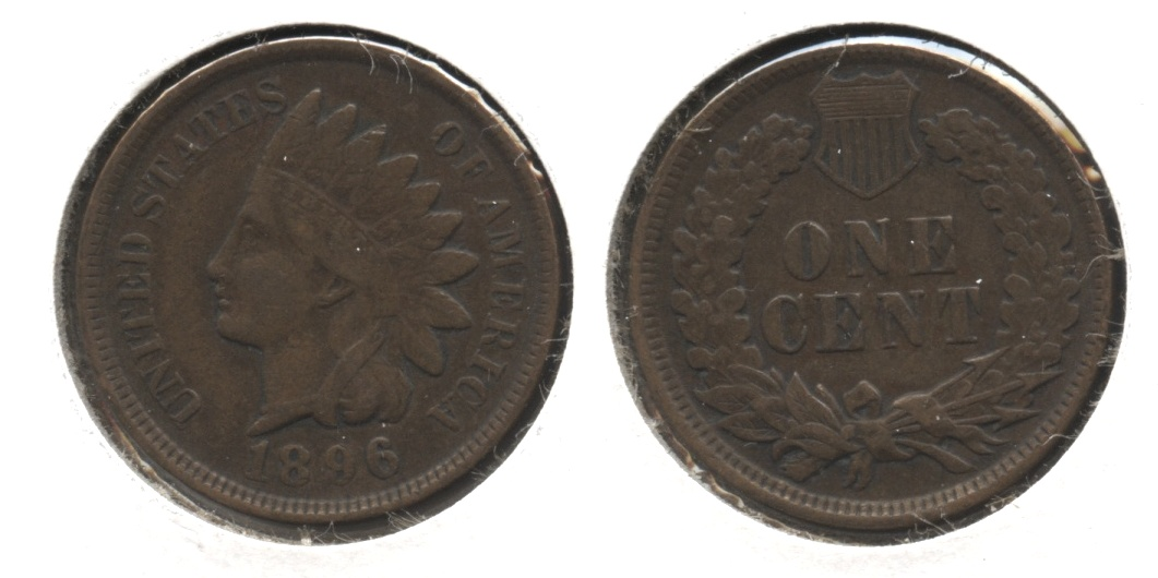 1896 Indian Head Cent VF-20 #a