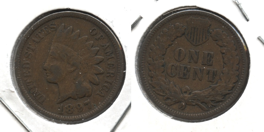 1897 Indian Head Cent VG-8 #a